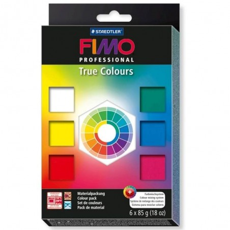 FIMO Professional set of 6 colors 510g