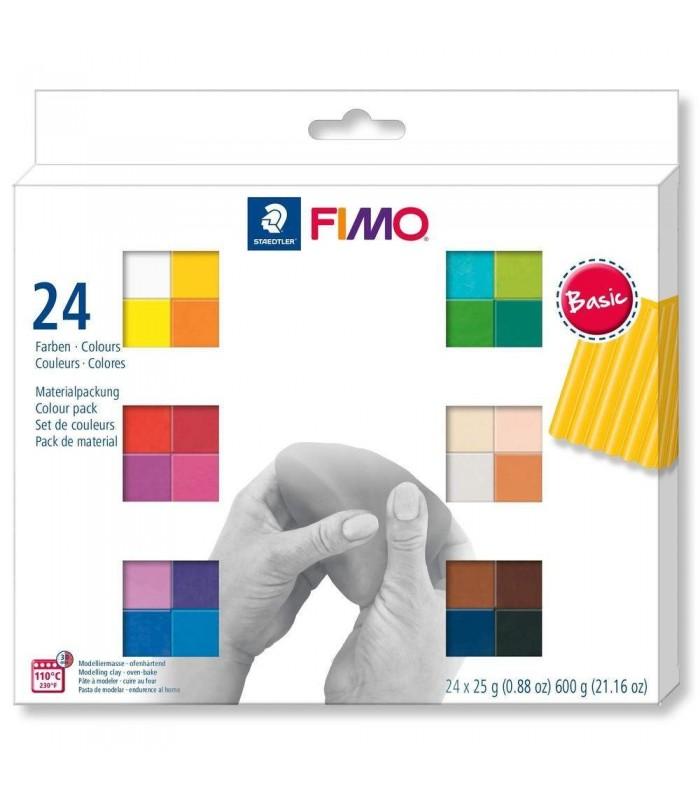 FIMO Soft set 24 colors 600g