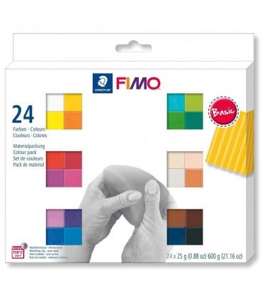 FIMO Soft set 24 culori 600g