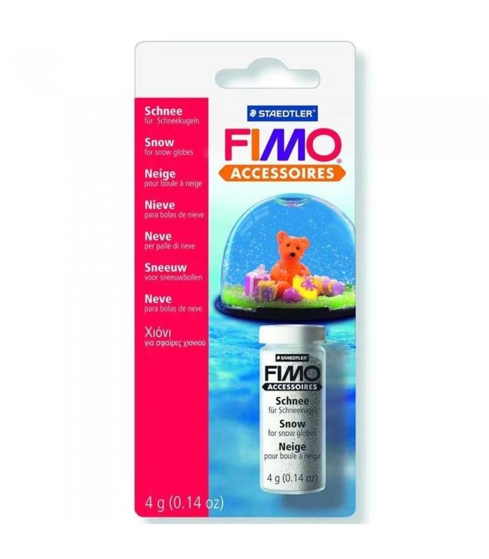FIMO zăpadă pentru glob