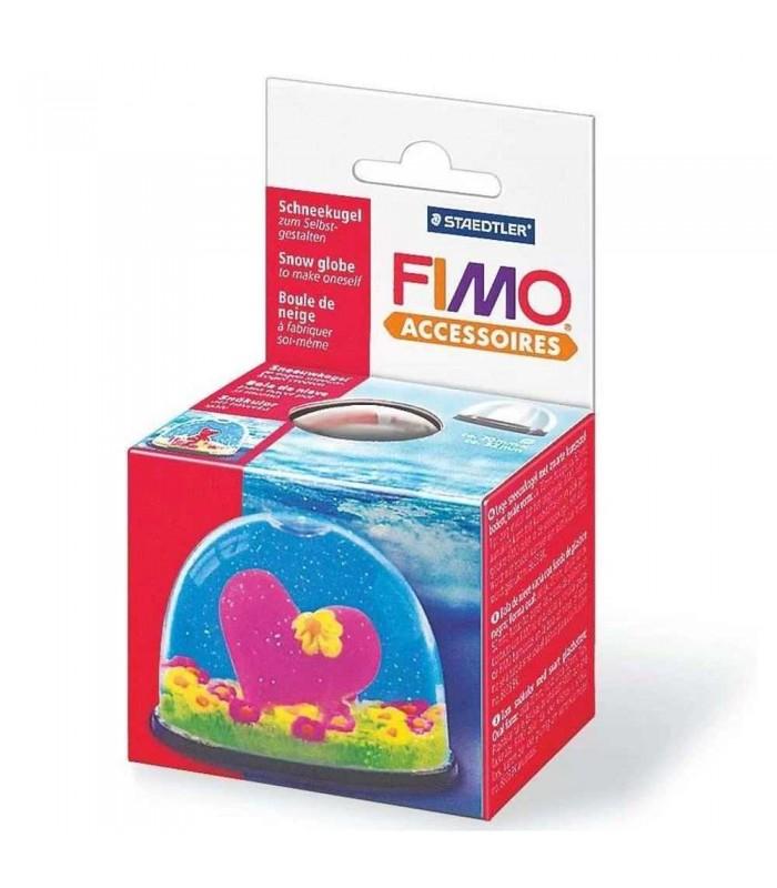 FIMO small snow globe