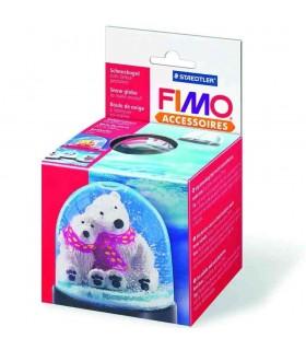 FIMO big snow globe