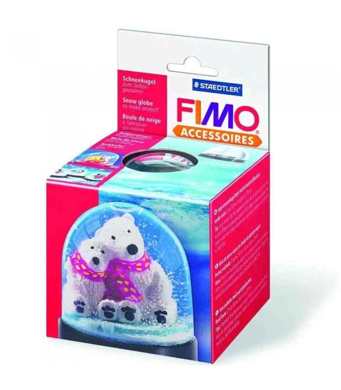 FIMO glob de zăpadă mare