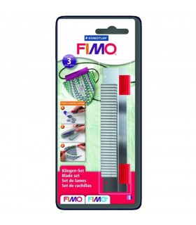 FIMO set of 3 cutter blades