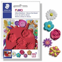 FIMO Silicone Mould Flowers
