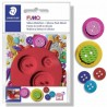 FIMO Silicone Mould Buttons