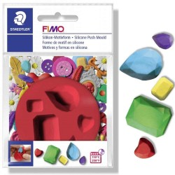 FIMO Silicone Mould Gems