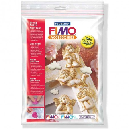 FIMO mould angels