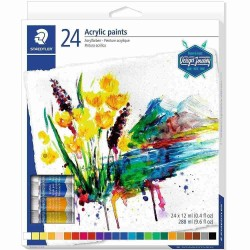 Staedtler acrylic paints 24 tubes