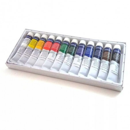 Staedtler watercolor paints set 12 tubes