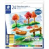 Staedtler watercolor paints set 24 tubes