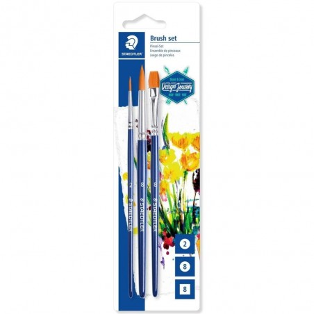 Staedtler set 3 brush 989-SBK3-3