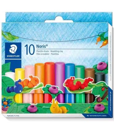 Noris set 10 culori plastilină copii 8420 C10