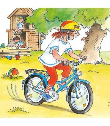 Conni învață să meargă pe bicicletă
