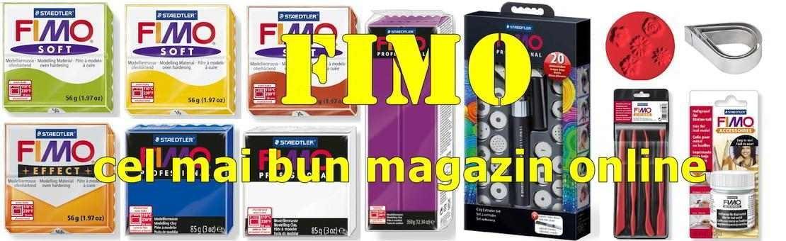 Pastă FIMO și accessorii